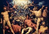 ティタノマキアの勝利により、ゼウス神々の王に