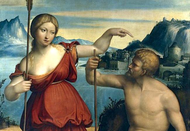 アテーナとポセイドーンのアテネの獲得争い