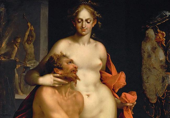 ヘパイストスとアフロディーテ
