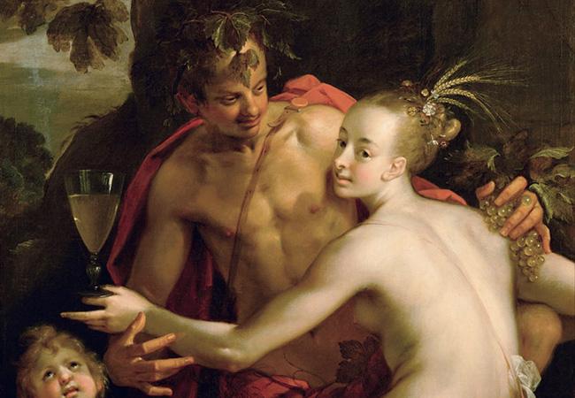 バッカス(ディオニュソス)とケレス