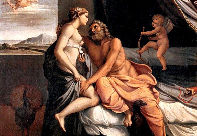 ヘーラーとゼウス
