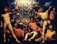 ゼウス神々の王に ティタノマキア