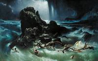 大洪水は、青銅の時代の後に起こった。