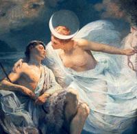 エンデュミオーン、恋人のために永遠の眠りに
