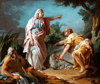 テーセウス物語 前編 ミノタウロスと王女アリアドネー