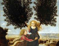 アポローンと月桂樹になったダプネー