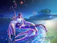 蟹座:ヘラクレスに踏みつぶされるカルキノス