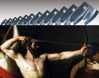 【第20・21歌】12の斧の穴を通す弓の競技