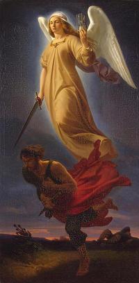 神の怒り、女神ネメシス