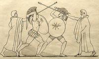 第七歌:ヘクトルとアイアスの一騎打ち