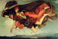 夜の女神ニュクスの息子、眠りの神ヒュプノス