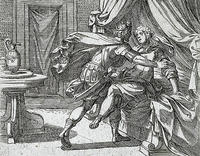 プロクネとピロメラ姉妹、蛮族の王テーレウス2