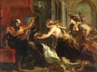 プロクネとピロメラ姉妹、蛮族の王テーレウス 3