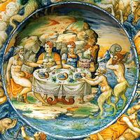 河神アケロオスとヘラクレスのディアネイラへの求婚。
