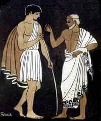 【第1歌】後編:女神アテネ、テレマコスを激励する。