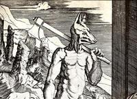 映画『アンダーワールド』の狼男ライカンは、リュカオン