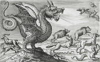 キマイラ − ライオンの頭、山羊の胴体、蛇の尻尾