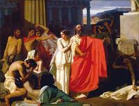 オイディプス王【4】王妃の自死と両眼を潰すオイディプス王
