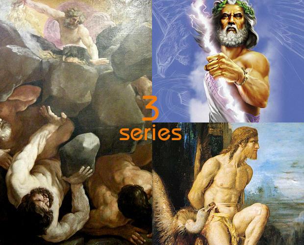 ゼウスの神話 ベスト3
