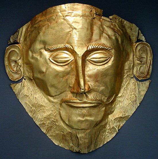 アガメムノンの黄金のマスク