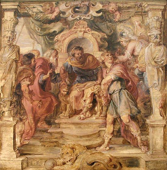 アキレウスの怒り(ルーベンス)