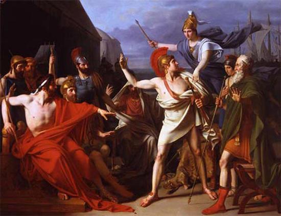 アキレウスの怒り