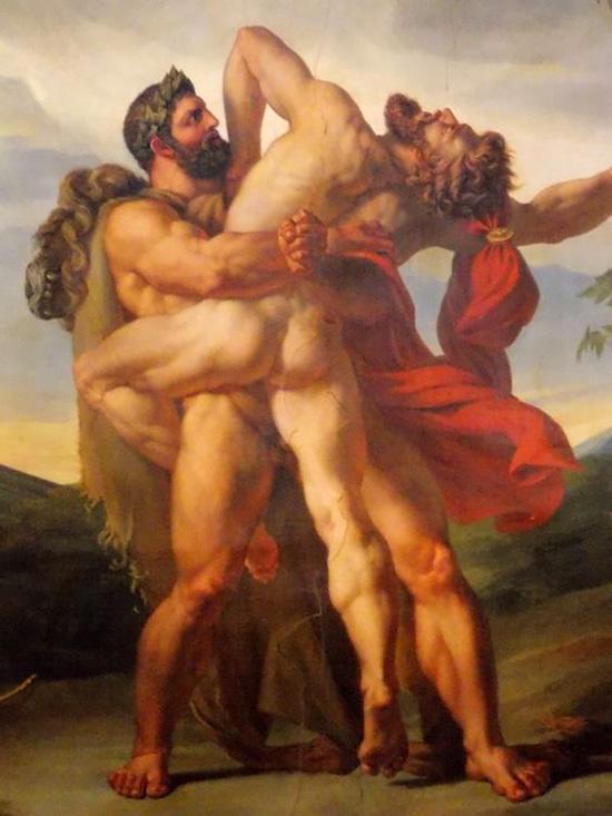 ヘラクレスとアンタイオス