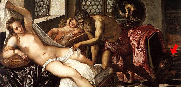 ウルカヌスに見つかったヴィーナスとマルス