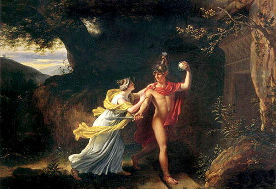 テーセウスとアリアドネー