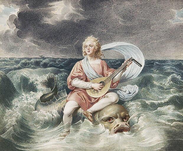 アリオン、オルペウスに次ぐ詩人・音楽家