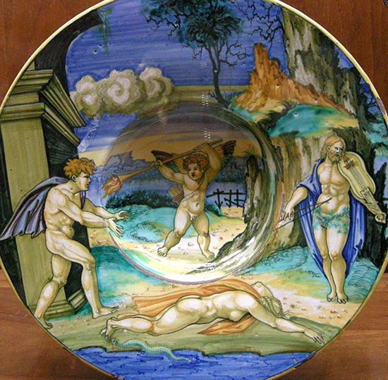 アリスタイオス、エウリディケーとオルフェウス