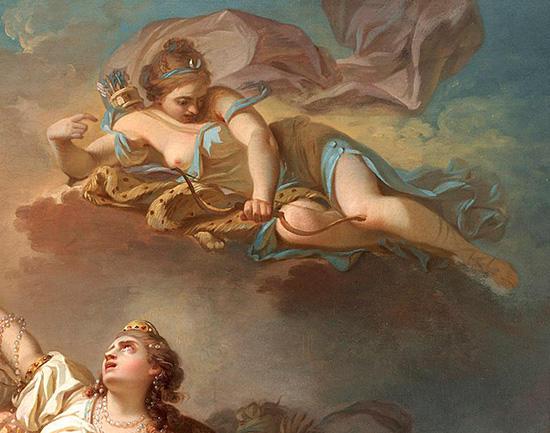 アルテミス、ニオベーの子を射殺1