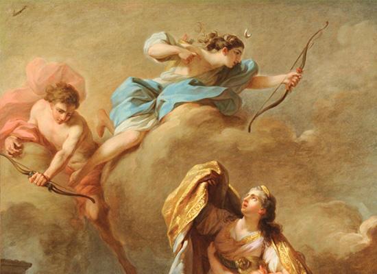 アルテミス、ニオベーの子を射殺3