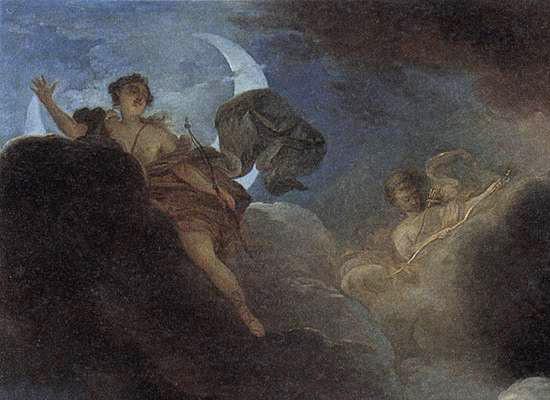 アルテミス、ニオベーの子を射殺