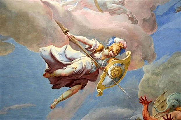天界の戦いよりアテーナ