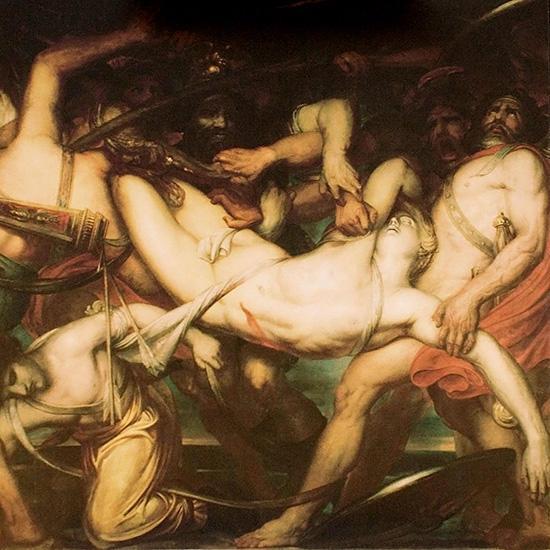 パトロクロスの遺体をめぐっての攻防
