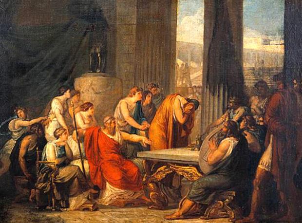 アルキノオス王の宮殿