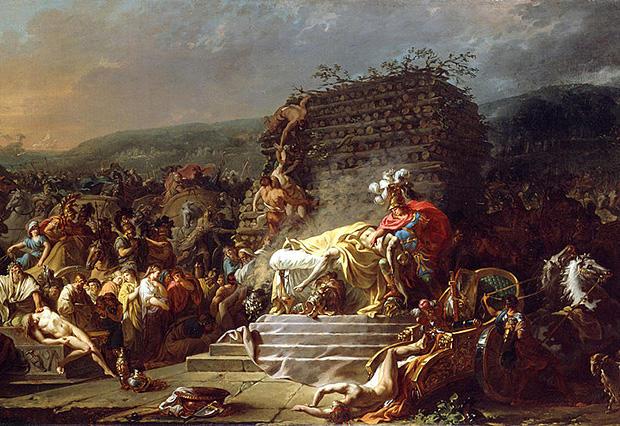 パトロクロスの葬送