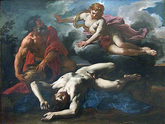 死せるオーリーオーンとアルテミス