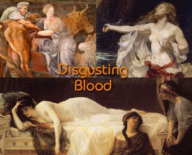 忌まわしき血!母パーシパエー、姉アリアドネーと妹パイドラー