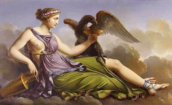 ゼウスとヘラの娘へべ