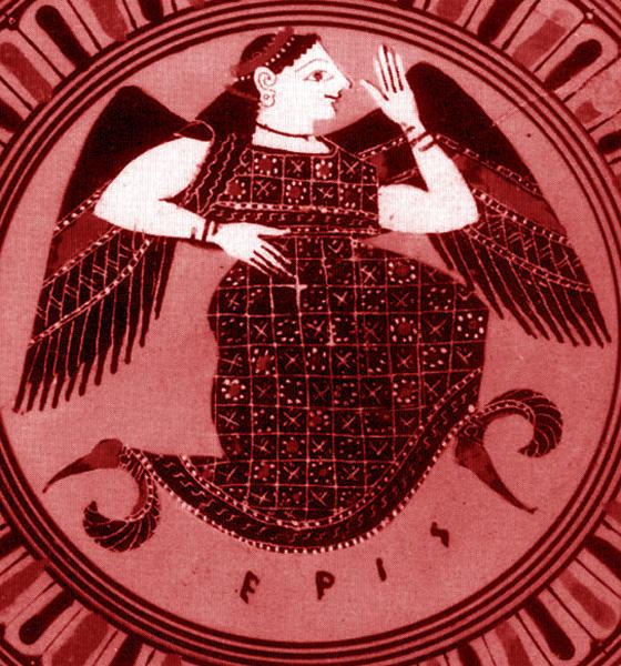 争いの女神エリス