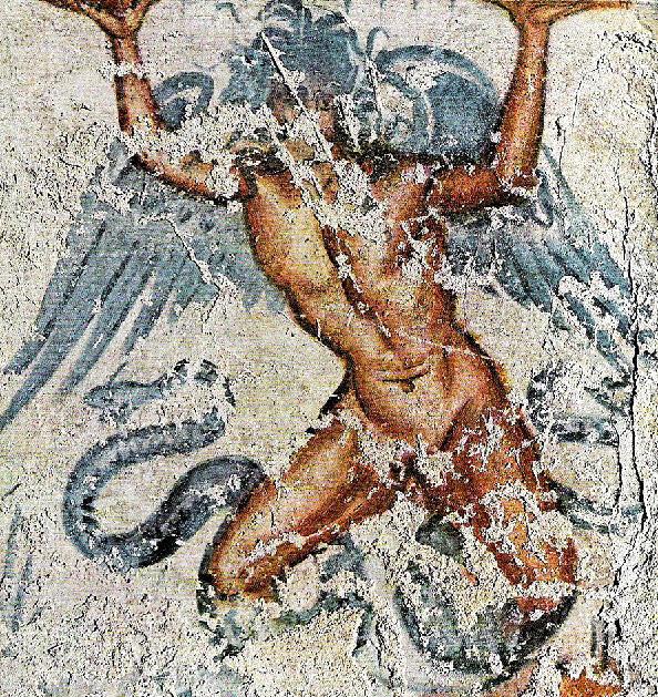 エトルリアの壁画