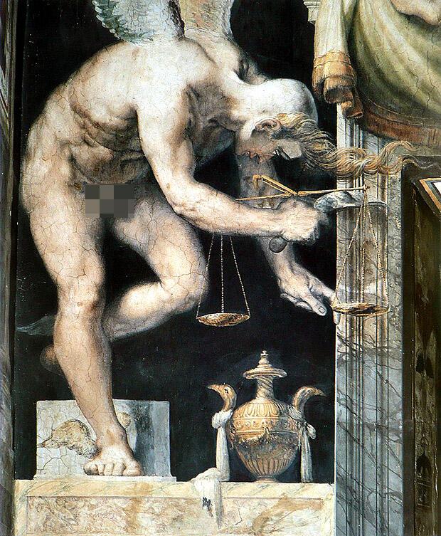 フランチェスコ・サルヴィアーティ「正義」