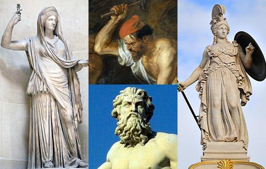 ギリシャ側の神々