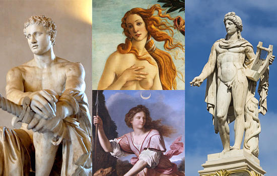 トロイア側の神々