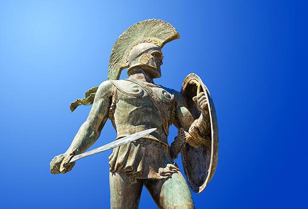 ギリシャ神話戦士