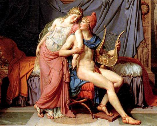 ヘレネーとパリス