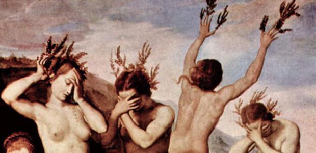 ポプラの木になったパエトンの姉妹ヘリアデス