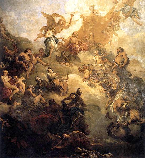 ヘラクレスの神格化